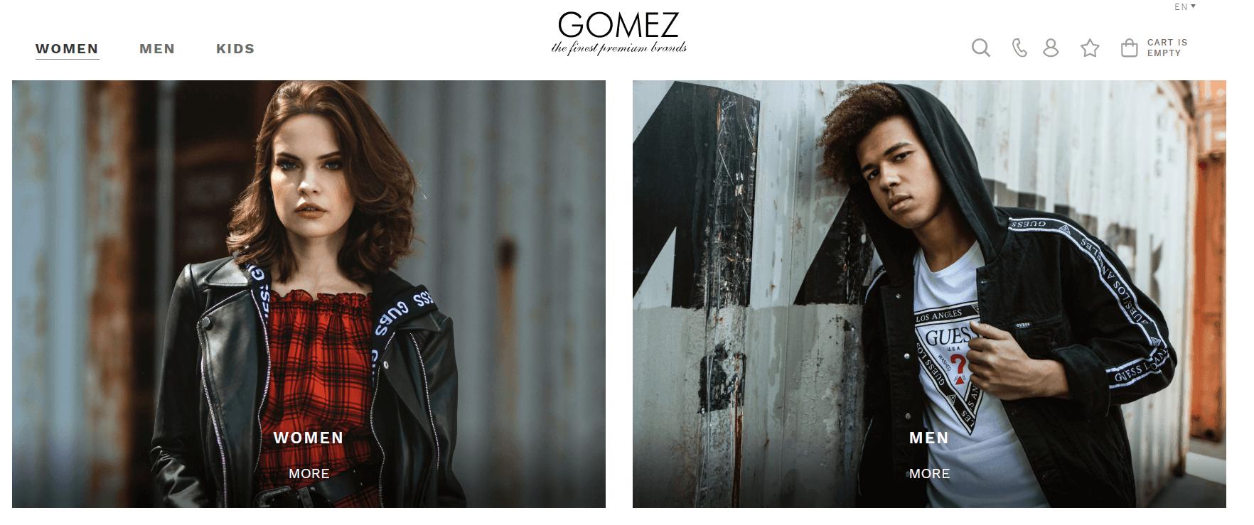 Покупка на GOMEZ с доставкой в Казахстан ✔️ myMeest - 3