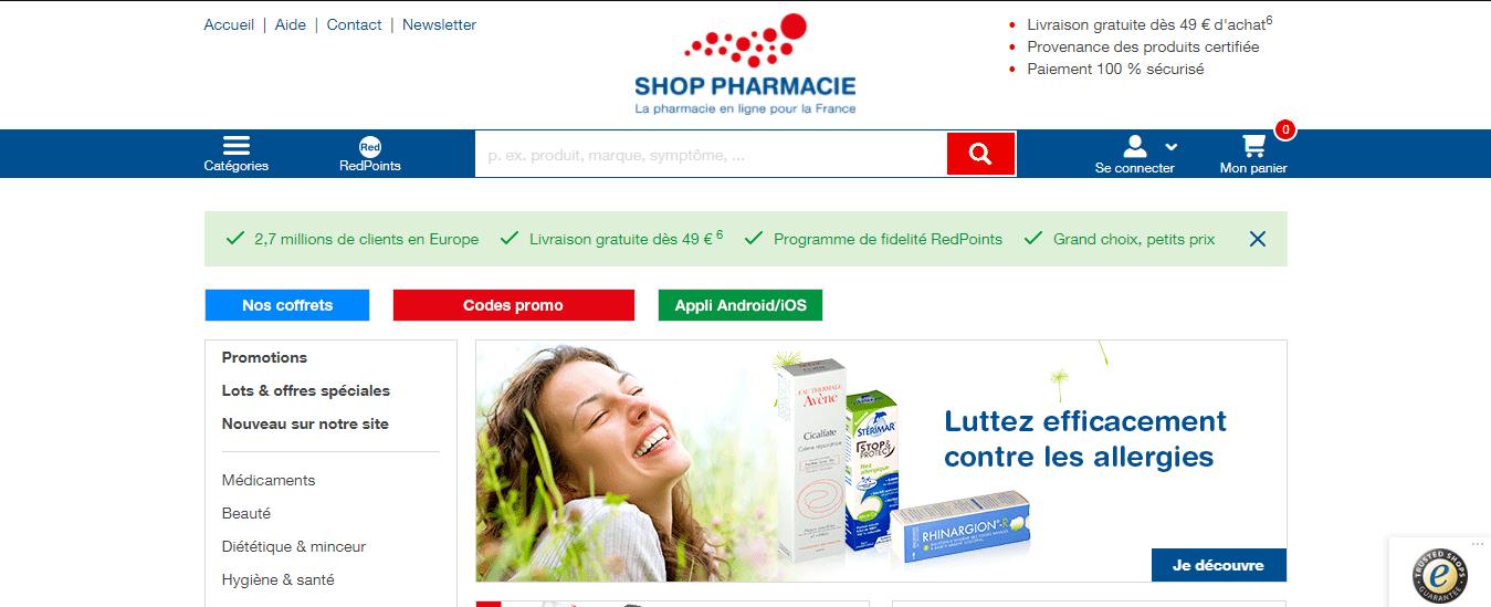 Покупка на SHOP PHARMACIE с доставкой в Украину - myMeest- 2