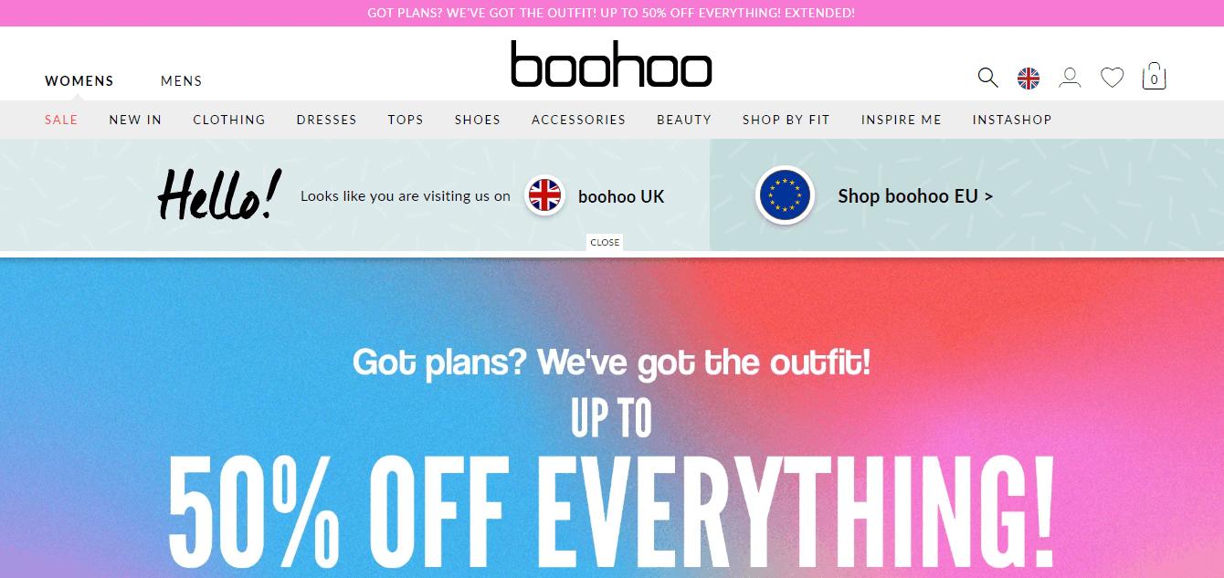 Покупка на BOOHOO с доставкой в Казахстан ✔️ myMeest - 3