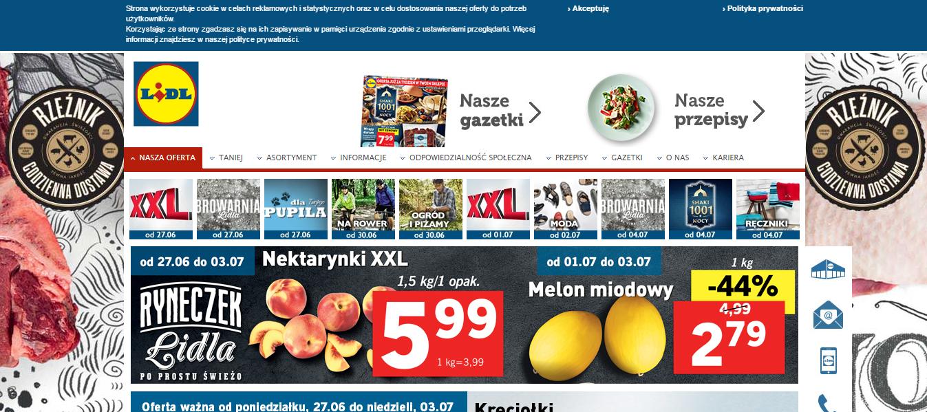 LiDL - доставка товарів з супермаркетів Лідл Польща в Україну - myMeest - 2