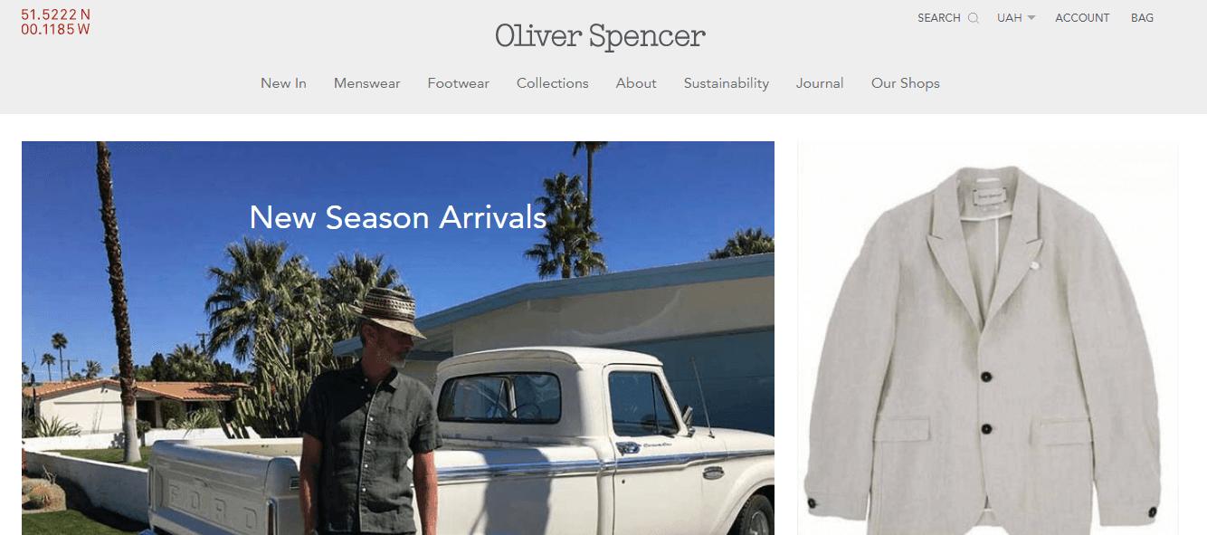 Покупка на OLIVER SPENCER с доставкой в Казахстан ✔️ myMeest - 3