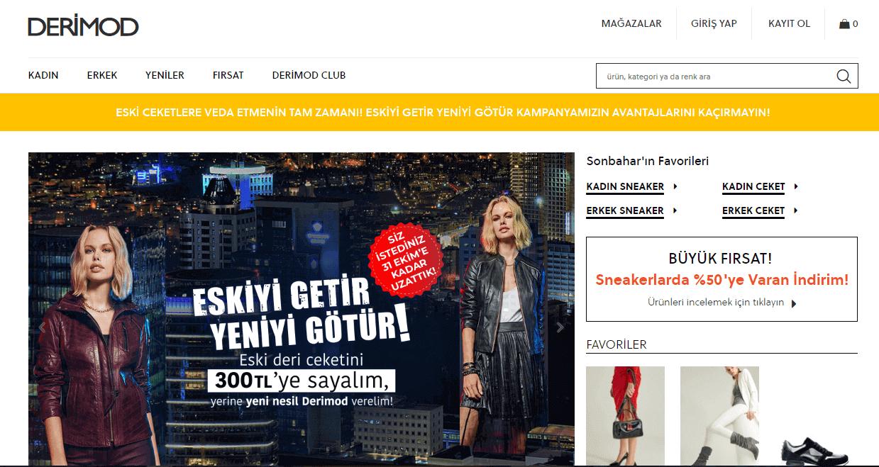 Купівля на DERIMOD взуття з доставкою в Україну - myMeest- 2