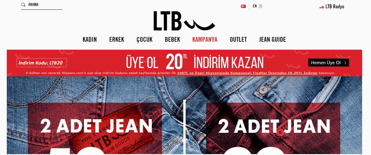 Купівля на LTB JEANS з доставкою в Україну - myMeest- 2