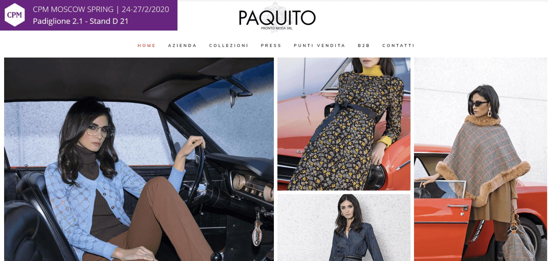 Paquito купити онлайн з доставкою в Україну - myMeest - 2