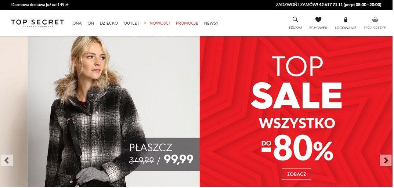 Top Secret (Топ Сікрет) Польща купити одяг і взуття c доставкою в Україну - myMeest- 2