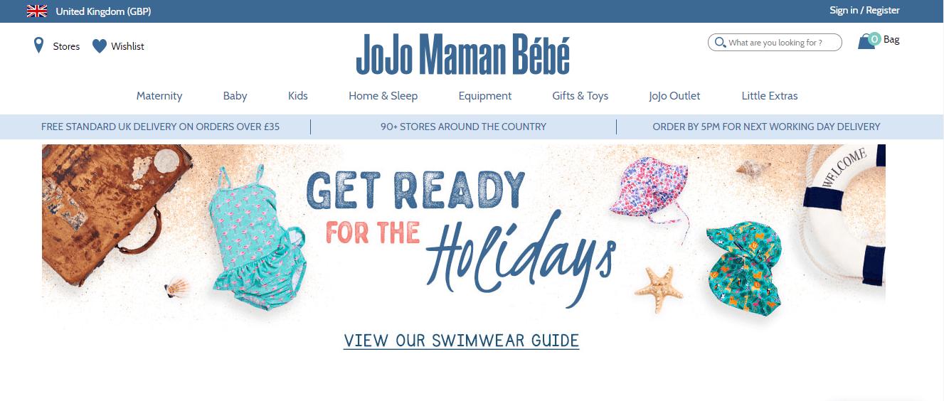 Купівля на JoJo Maman Bebe з доставкою в Україну - myMeest - 2