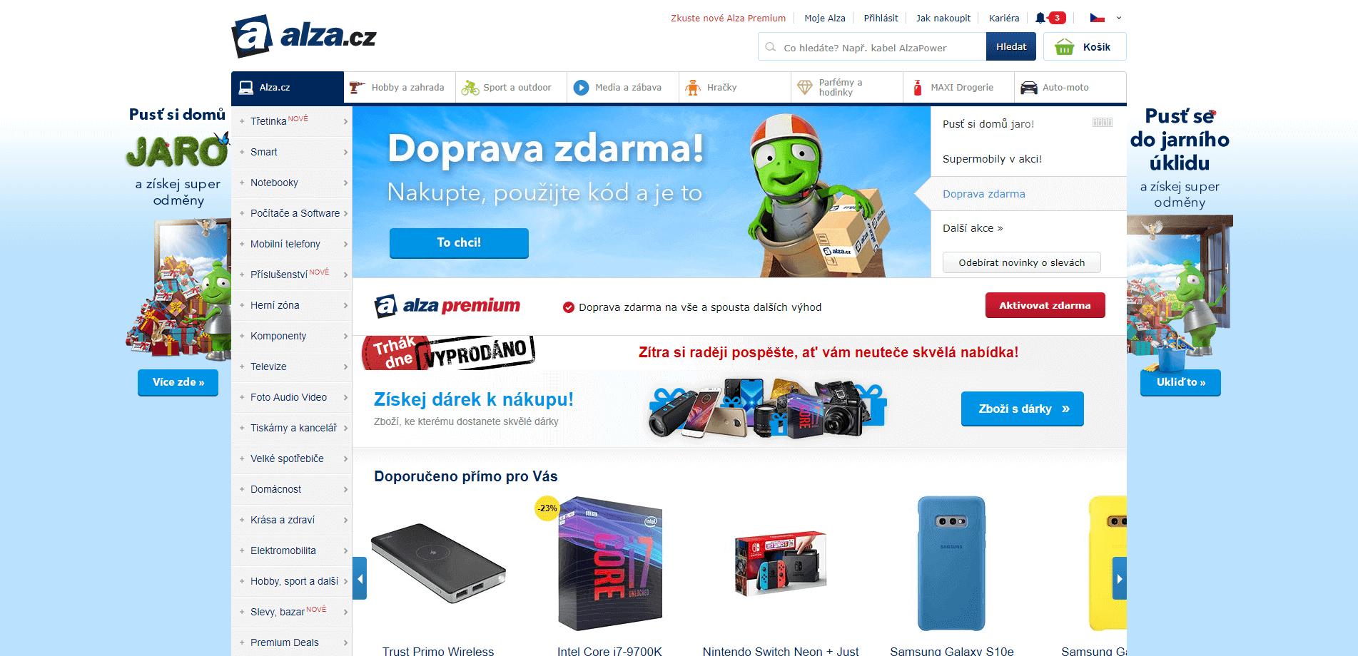 Покупка на Alza (Алза сз) с доставкой в Украину - myMeest - 2