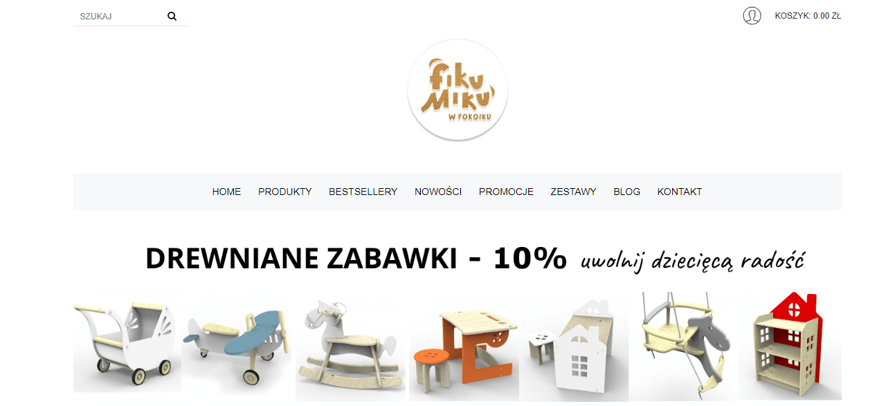 Купівля на fikumikuwpokoiku.pl з доставкою в Україну - myMeest - 2