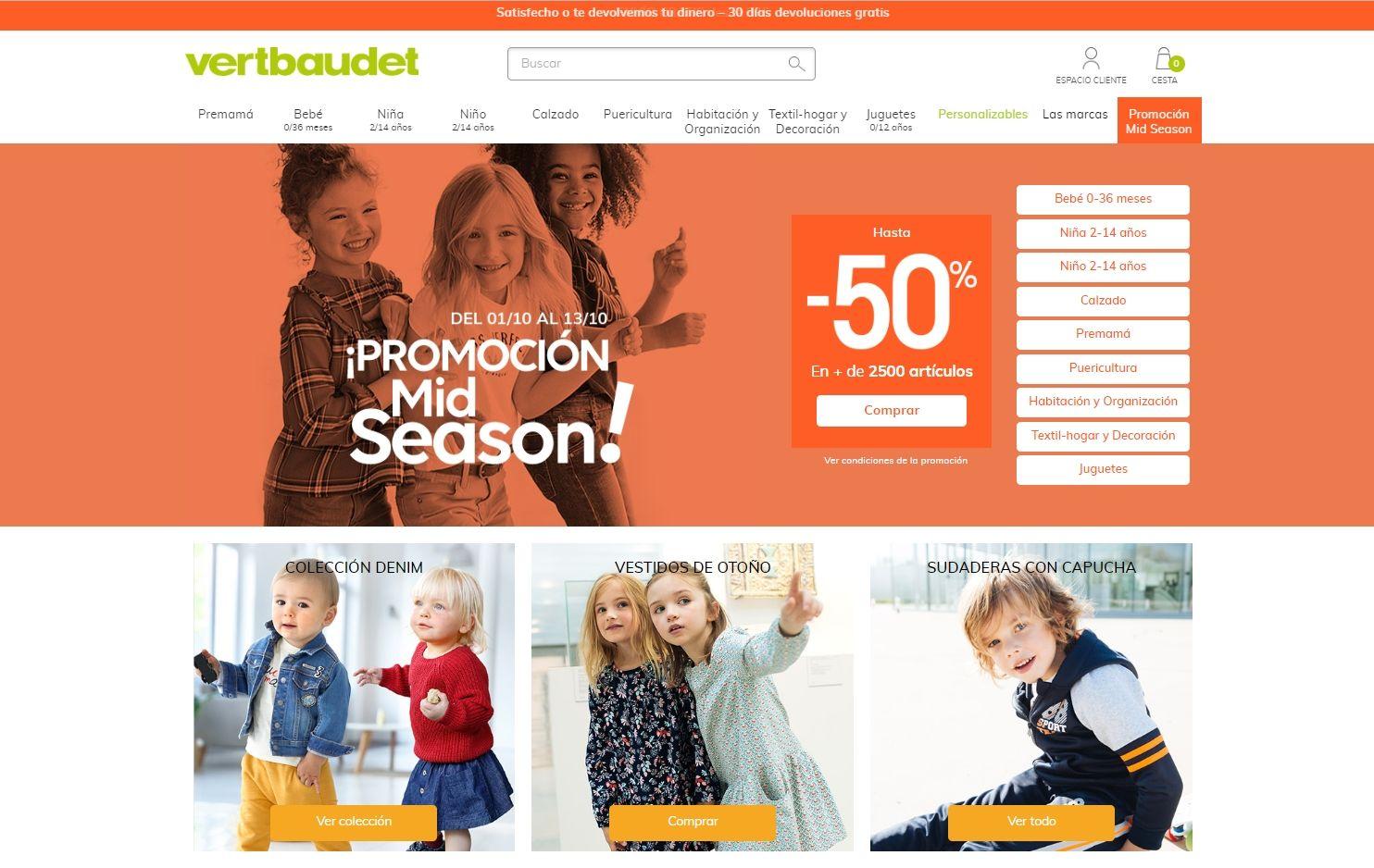 Покупка на VERTBAUDET с доставкой в Казахстан ✔️ myMeest - 3