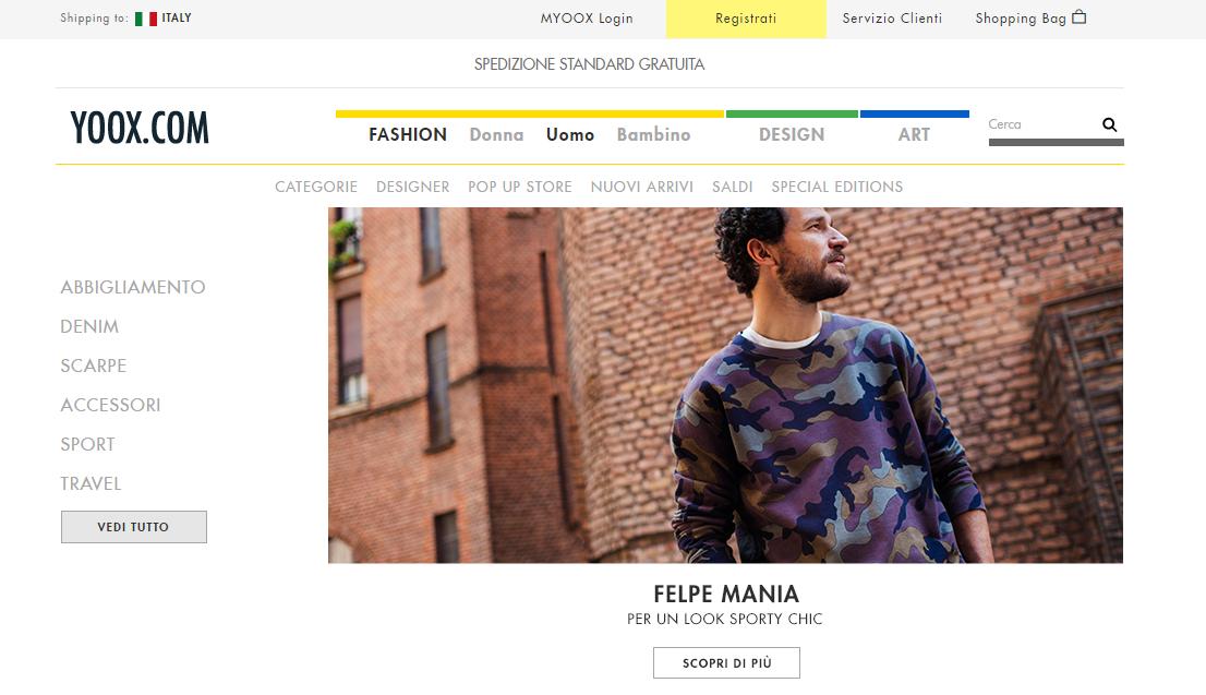 Yoox (Італія) купити італійський одяг з доставкою в Україну - myMeest - 2