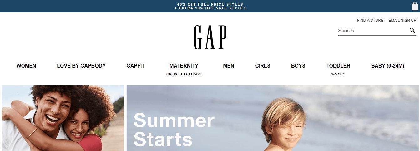 Купівля на Gap з доставкою в Україну - myMeest- 2