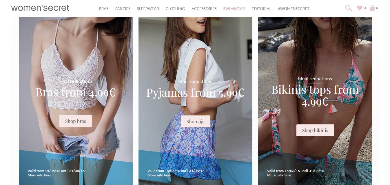 Women'Secret (Вумен Сікрет) купити жіночий одяг з доставкою в Україну - myMeest- 2