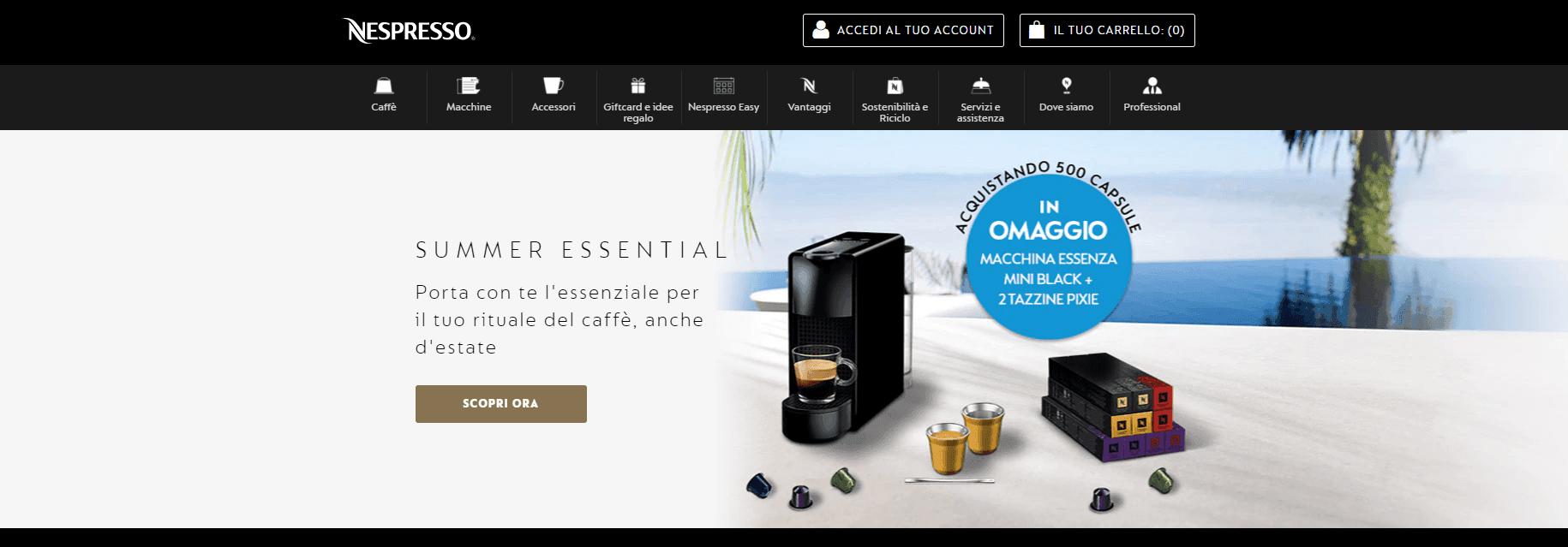 Nespresso- 2