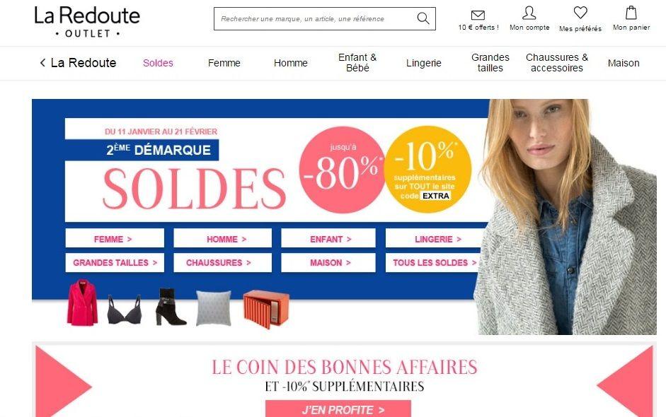 Купівля на LA REDOUTE (Ла редут французький сайт) з доставкою в Україну - myMeest- 2