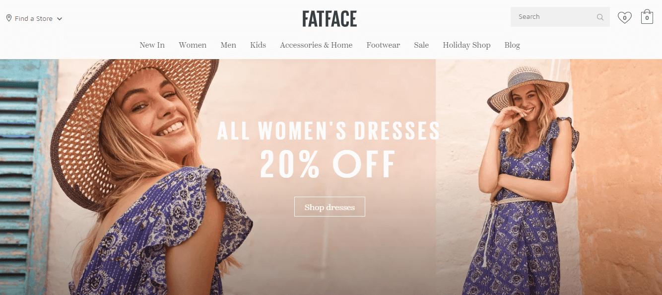 Покупка на FAT FACE с доставкой в Казахстан ✔️ myMeest - 3