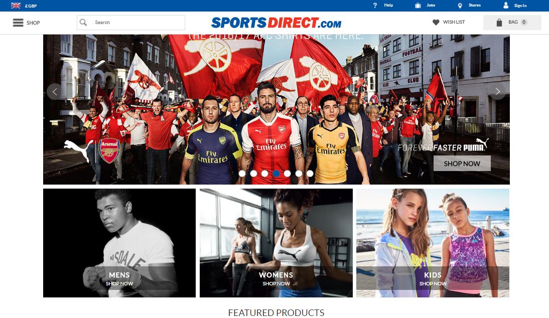 Доставка Sportsdirect в Україні - myMeest - 2