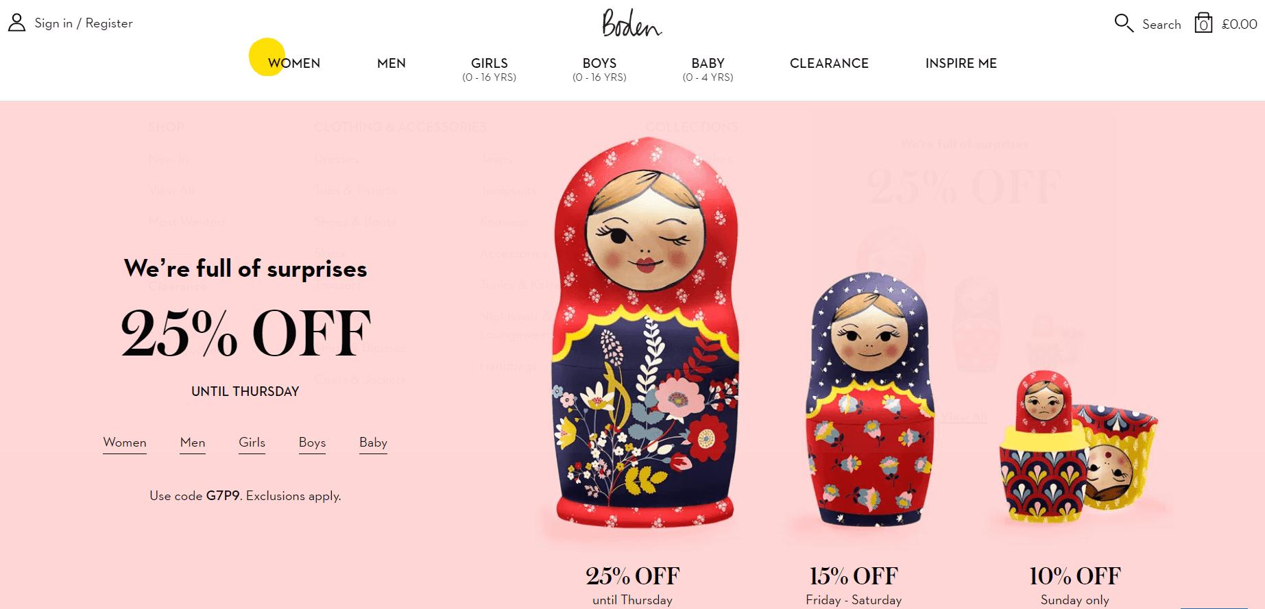 Покупка на Boden с доставкой в Казахстан ✔️ myMeest - 3