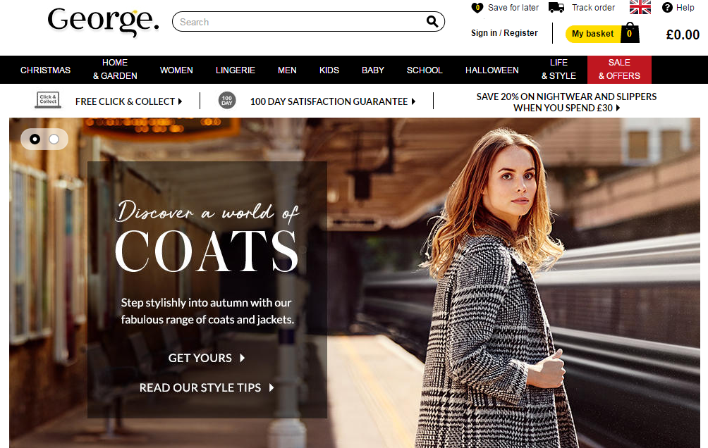 GEORGE ASDA - Джордж одежда купить с доставкой в Украину - myMeest - 2